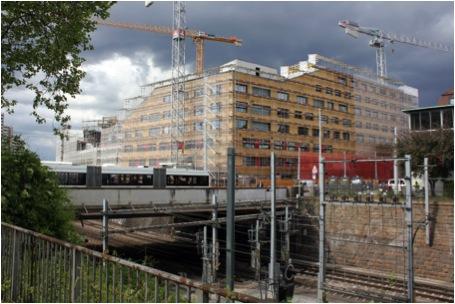 Neubau Kalkbreite, September 2013 (Foto: Genossenschaft Kalkbreite)
